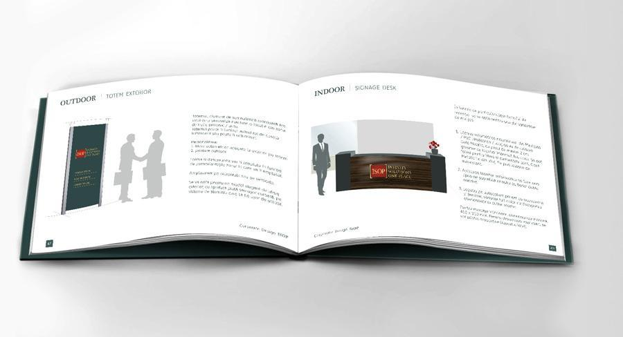 ISOP Manual de identitate: reguli grafica outdoor corporate