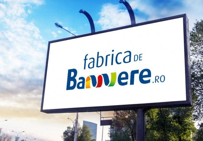 Creatie logo design Fabrica de bannere