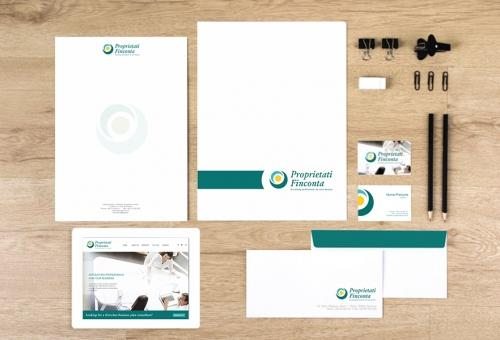Branding si website de prezenetare firma Finconta
