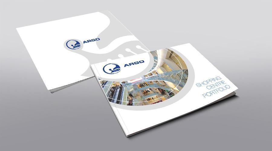 Creatie grafica coperta brosura de prezentare ARGO