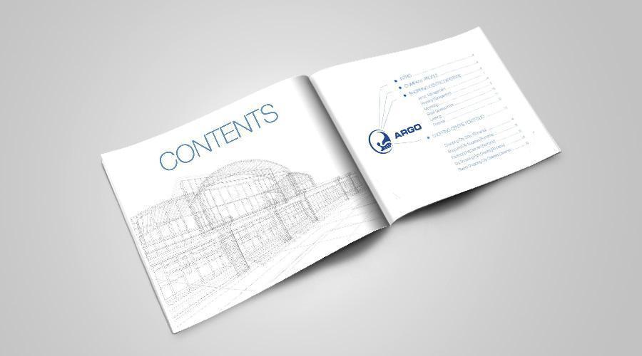 Creatie grafica layout minimalist ARGO