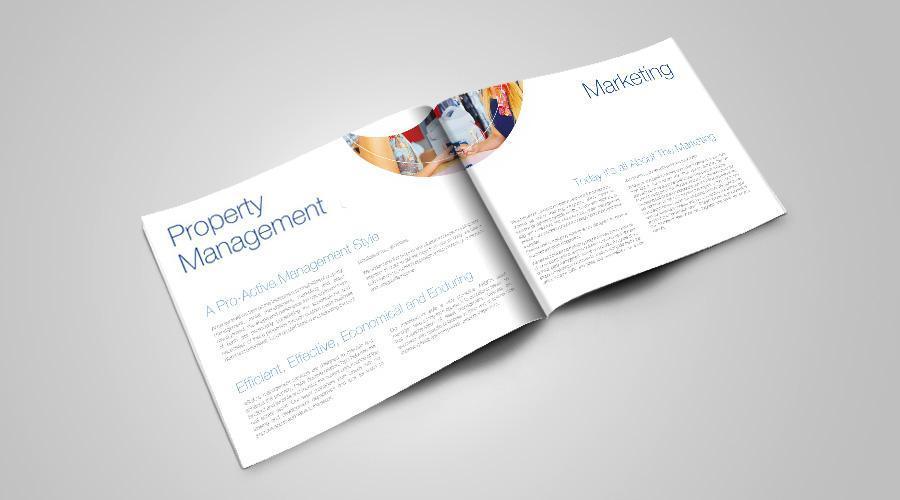 Grafica corporate si print cu lacuire selectiva brosura ARGO