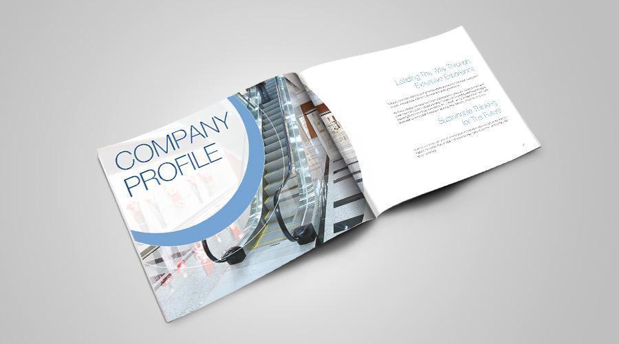 Grafica si print cu lacuire selectiva brosura corporate ARGO