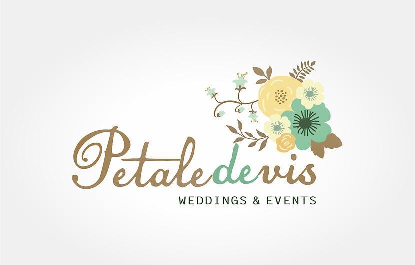 Creatie logo si identitate vizuala florarie PetaledeVis
