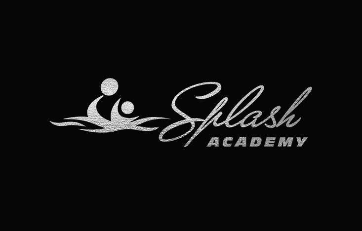 Logo design monocrom, complex inot copii Splash Academy