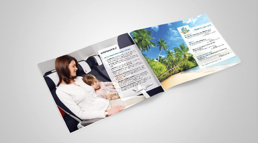 Print si grafica brosura oferte Dertour