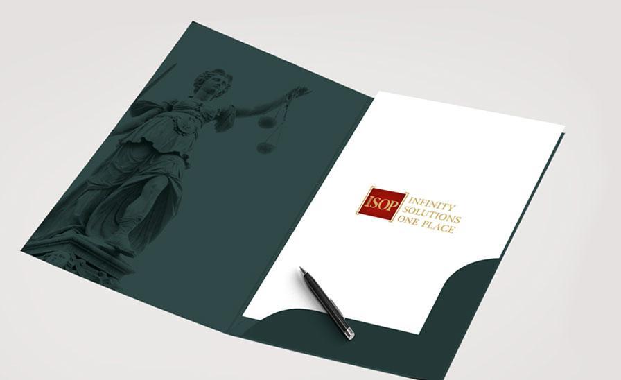Branding ISOP: Logo design, carti de vizita si mapa personalizata