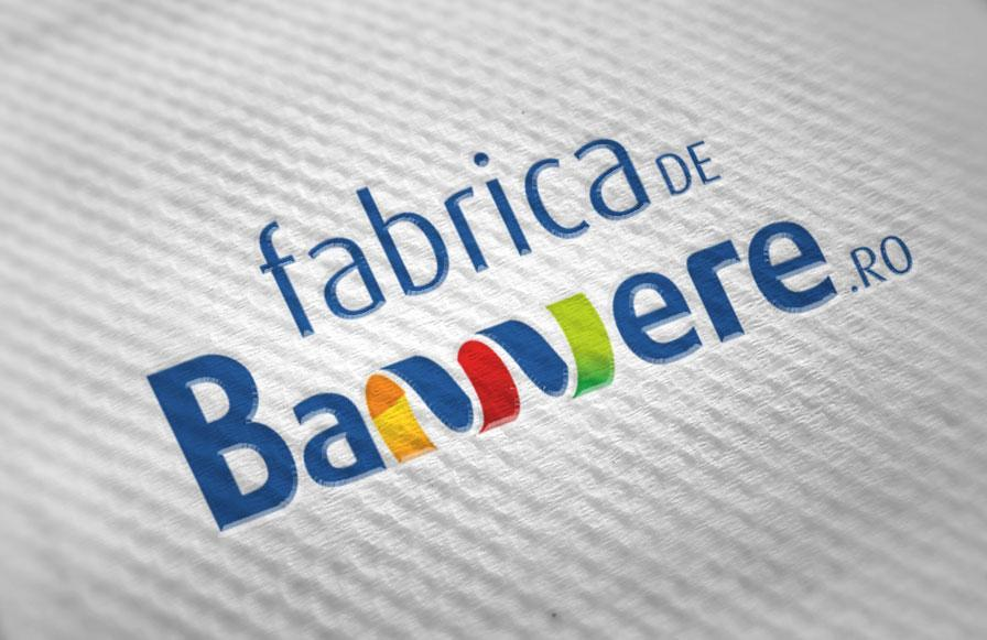 Creatie logo design si carti de vizita Fabrica de bannere