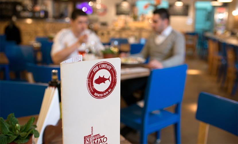 Creatie grafica meniu restaurant Fish Company