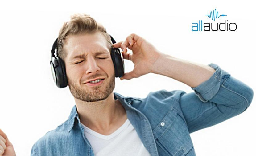 Creatie grafica brandul AllAudio