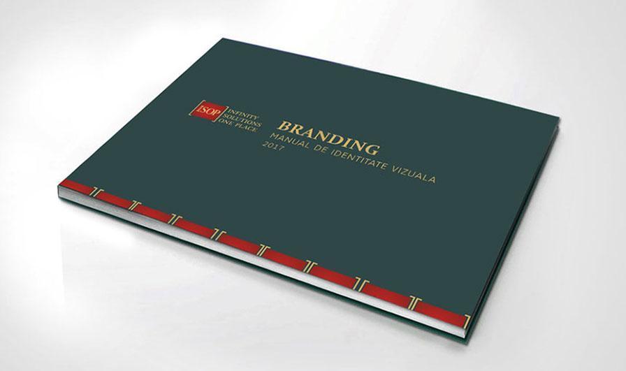 Manual de identitate vizuala ISOP