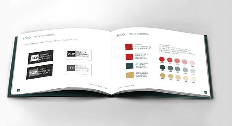 Reguli de utilizare a manualului de identitate ISOP