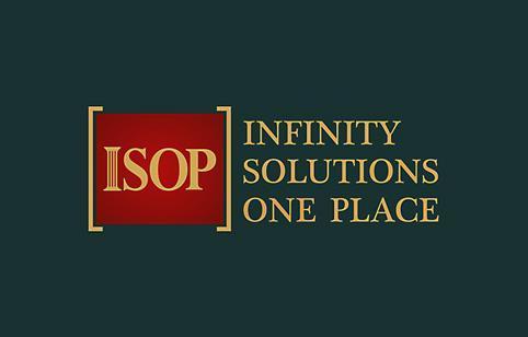 Rebranding logo design ISOP