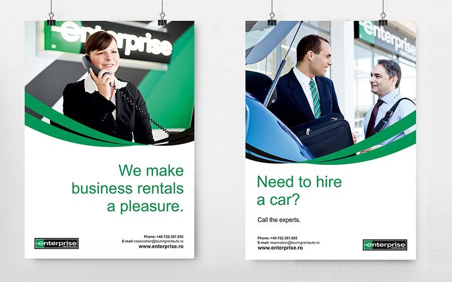 Grafica poster Enterprise
