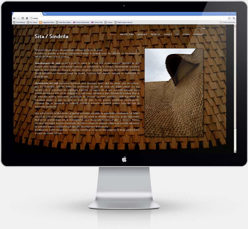 Realizare website de prezentare ZonaStudio