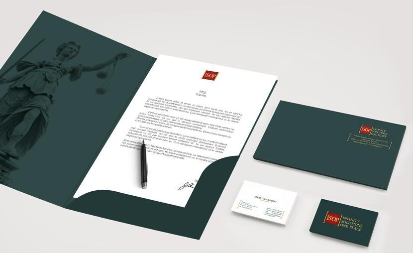 Rebranding Identitate vizuala firma avocatura